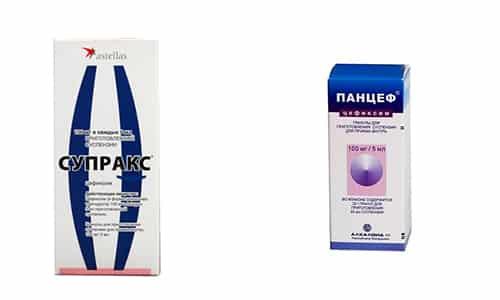 Класс цефалоспориновых антибиотиков включает в себя такие лекарства, как Панцеф и Супракс