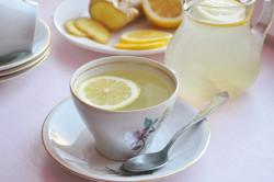 Чай с лимоном для лечения фарингита