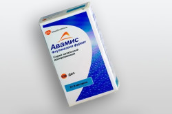 Авамис при лечении аденоидов у детей