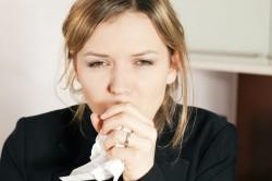 Сильный кашель при ларингите