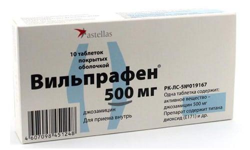 Вильпрафен активно действует против различных бактерий и вирусов, являющихся возбудителям инфекционных заболеваний и воспалительных процессов в организме